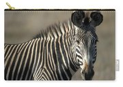 Grevys Zebra Standing In Plains Kenya Carry-all Pouch