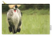Grey Crowned-crane  Balearica Regulorum Carry-all Pouch