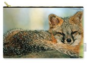 Grey Fox Urocyon Cinereoargenteus Carry-all Pouch
