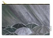 Grey Rain 2 By Jrr Carry-all Pouch
