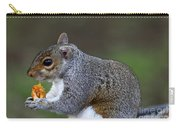 Grey Squirrel Tucking In Carry-all Pouch