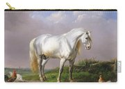 Grey Stallion Carry-all Pouch