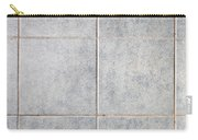 Grey Tiles Carry-all Pouch