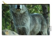 North American Wolf  Carry-all Pouch
