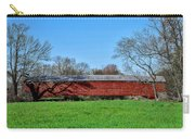 Griesemers Mill Covered Bridge Berks County Pennsylvania Carry-all Pouch