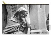 Grieving Statue Carry-all Pouch by Jennifer Ancker