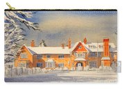 Griffin House School - Snowy Day Carry-all Pouch