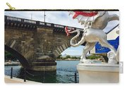Griffin Charms The London Bridge Carry-all Pouch
