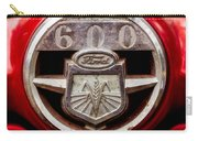 Grill Logo Detail - 1950s-vintage Ford 601 Workmaster Tractor Carry-all Pouch