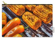 Grilling Corn And Peppers Carry-all Pouch