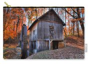 Grist Mill Under Fall Foliage Carry-all Pouch
