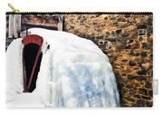 Grist Mill In Winter Carry-all Pouch