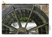 Grist Mill Wheel With Spillway Carry-all Pouch