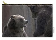 Grizzlies At Play Carry-all Pouch