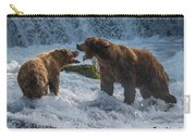 Grizzlies Fighting Carry-all Pouch