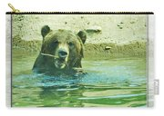 Grizzly Bath Carry-all Pouch