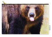 Grizzly Bear 1 Carry-all Pouch