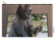 Grizzly Bear 6 Out Of Bounds Carry-all Pouch