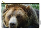 Grizzly Bear At Rest In Colorado Wildneress Carry-all Pouch