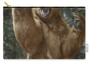 Grizzly Bear Attack On The Trail Carry-all Pouch