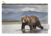 Grizzly Bear In River Katmai Np Alaska Carry-all Pouch