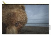 Grizzly Bear In Tidal Flats Alaska Carry-all Pouch