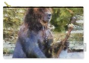 Grizzly Bear Photo Art 02 Carry-all Pouch
