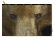 Grizzly Bear Portrait Carry-all Pouch