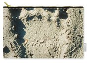 Grizzly Bear Track In Soft Mud. Carry-all Pouch