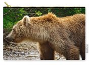 Grizzly Bear Very Close In Moraine River In Katmai National Preserve-ak Carry-all Pouch