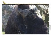 Grizzly Bears Fighting Carry-all Pouch