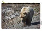 Grizzly By The Road Carry-all Pouch