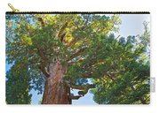 Grizzly Giant Sequoia Top In Mariposa Grove In Yosemite National Park-california    Carry-all Pouch