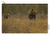 Grizzly Sow And Cub   #6365 Carry-all Pouch