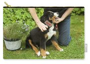 Grooming Bernese Mountain Puppy Carry-all Pouch