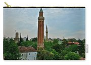 Grooved Minaret Fromthirteenth Century In Antalya-turkey Carry-all Pouch