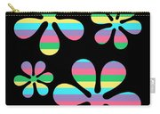 Groovy Flowers 4 Carry-all Pouch