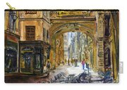 Gros Horlaoge Rouen France Carry-all Pouch