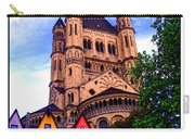 Gross St. Martin In Cologne Germany Carry-all Pouch