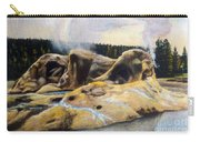 Grotto Geyser Yellowstone Np 1928 Carry-all Pouch