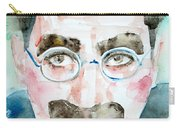 Groucho Marx Watercolor Portrait.1 Carry-all Pouch