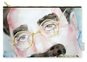 Groucho Marx Watercolor Portrait.2 Carry-all Pouch