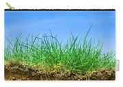 Ground And Grass Carry-all Pouch