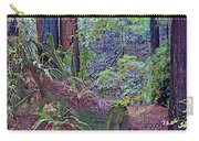 Ground Level Landscape In Armstrong Redwoods State Preserve Near Guerneville-ca Carry-all Pouch