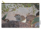 Ground Squirrel On Basalt Carry-all Pouch