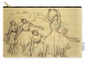 Group Of Dancers Carry-all Pouch