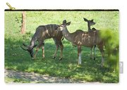 group of Kudu Antelope Carry-all Pouch