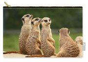 Group Of Meerkats Carry-all Pouch