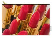 Group Of Red Lipsticks Carry-all Pouch