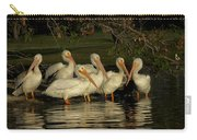Group Of White Pelicans Carry-all Pouch